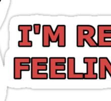SHULK | Super Smash Taunts | I'm really feeling it! Sticker