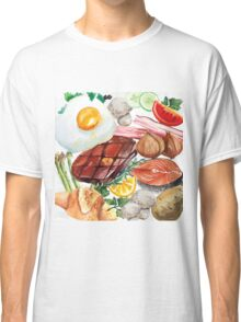Painted Food Classic T-Shirt