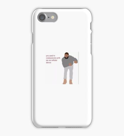 Hotline Bling demake iPhone Case/Skin