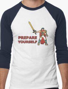 IKE | Super Smash Taunts | Prepare yourself Men's Baseball ¾ T-Shirt