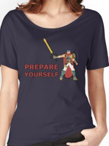 IKE | Super Smash Taunts | Prepare yourself Women's Relaxed Fit T-Shirt