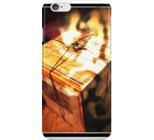 Glossy Voyage Papers iPhone Case/Skin
