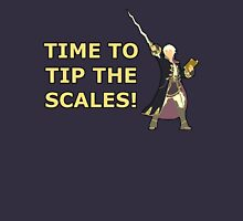 ROBIN | Super Smash Taunts | Time to tip the scales! Unisex T-Shirt