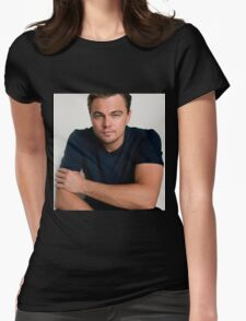 leonardo dicaprio Womens Fitted T-Shirt