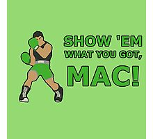LITTLE MAC | Super Smash Taunts | Show 'em what you got, Mac! Photographic Print
