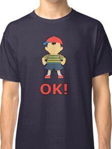 NESS | Super Smash Taunts | OK! Classic T-Shirt