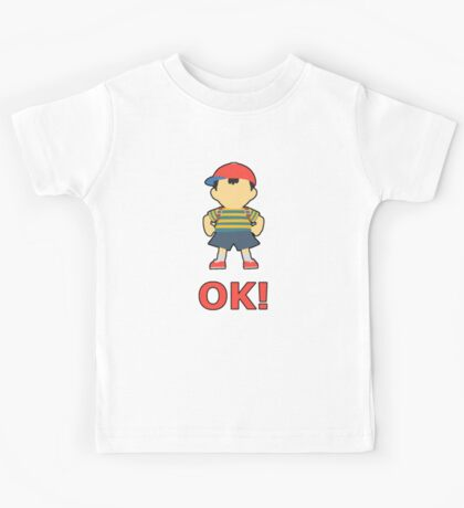 NESS | Super Smash Taunts | OK! Kids Tee