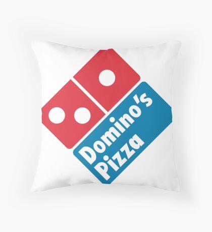 Dom1no's P1zza Throw Pillow