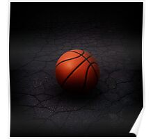 Lonely Basketball Poster