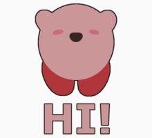 KIRBY | Super Smash Taunts | Hi! Baby Tee