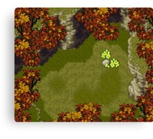 Chrono Trigger - Truce Canyon Canvas Print