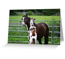 Hugs for Mommy Greeting Card