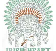 IRISH INDIAN BLOOD by HotTShirts