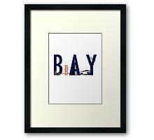 Bay Area Landmarks Framed Print