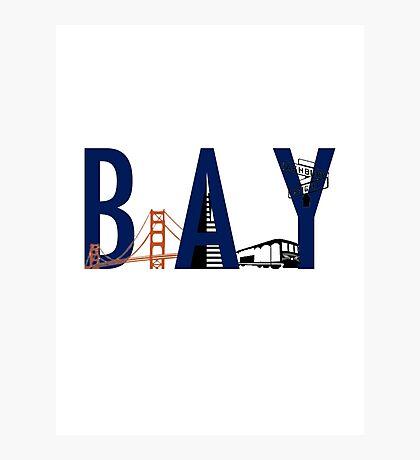 Bay Area Landmarks Photographic Print