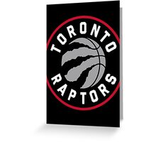 Raptors Greeting Card