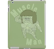 Ironic Muscle Man iPad Case/Skin