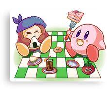 Kirby: Picnic Canvas Print