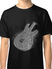 Guitar Liquid Metal Classic T-Shirt