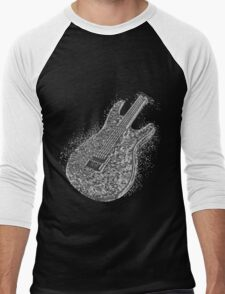 Guitar Liquid Metal Men's Baseball ¾ T-Shirt