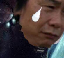 Crying Miyamoto Sticker