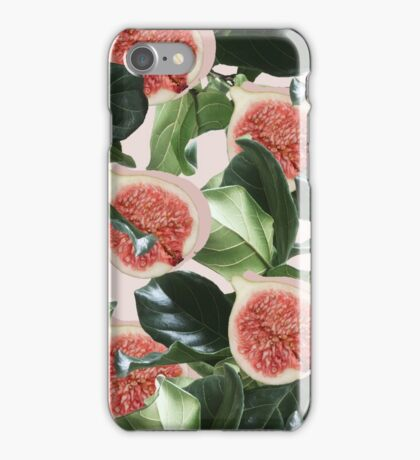 Figs & Leaves #redbubble #home #lifestyle iPhone Case/Skin