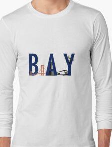 Bay Area Landmarks Long Sleeve T-Shirt