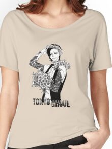 Uta - black and white - Tokyo Ghoul Women's Relaxed Fit T-Shirt