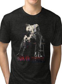 Uta - Sit Down - Tokyo Ghoul Tri-blend T-Shirt