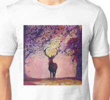 Deer coming from the glades - Style II Unisex T-Shirt