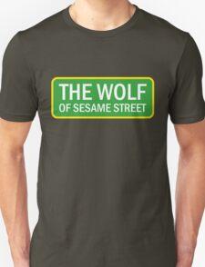The Wolf of Sesame Street T-Shirt