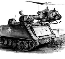 M113 and UH1 by olivercook