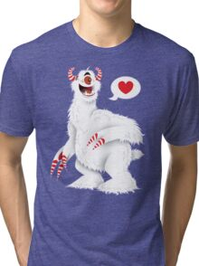 The Candy Pain Monster Tri-blend T-Shirt