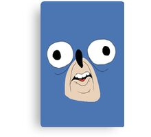 Sonic retarded face Canvas Print