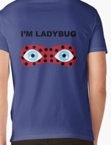 I'm Ladybug Mens V-Neck T-Shirt