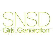 SNSD Girls Generation Photographic Print