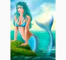 Fantasy beautiful young woman mermaid in sea Unisex T-Shirt