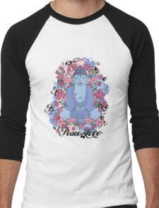 Peace & Love Men's Baseball ¾ T-Shirt