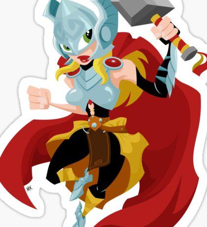 She Thor Sticker