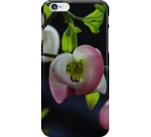 Pink bell flowers iPhone Case/Skin