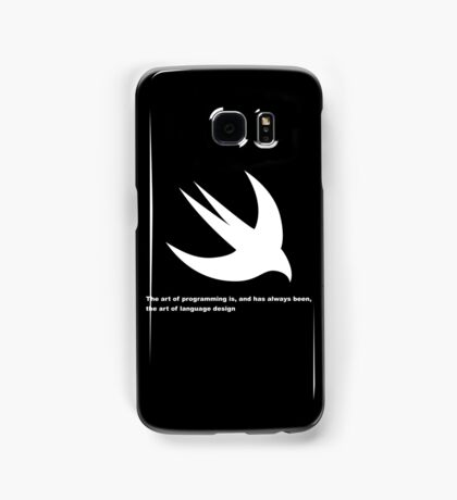 The art of programming Samsung Galaxy Case/Skin