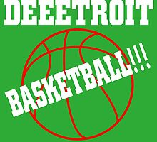 Deeetroit basketball by trendism