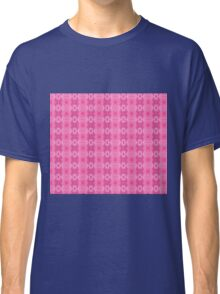 Wild Roses With Garden Background Abstract Classic T-Shirt