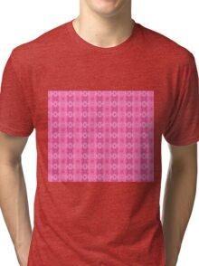 Wild Roses With Garden Background Abstract Tri-blend T-Shirt