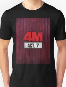 4Minute 4M Seventh Mini Album ACT. 7  Unisex T-Shirt