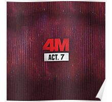 4Minute 4M Seventh Mini Album ACT. 7  Poster