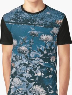 Blue Flowers photo design by LUCILLE Graphic T-Shirt