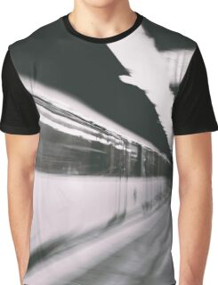 Train photo design by LUCILLE Graphic T-Shirt