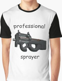 CS;GO- Professional P90 Sprayer Graphic T-Shirt