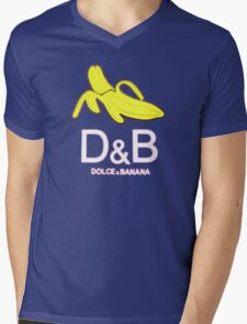 Dolce & banana Mens V-Neck T-Shirt